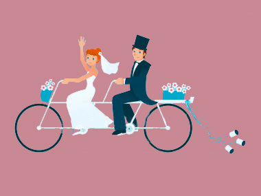 LilyInfoSystems WeddingSite weddingcartoonb